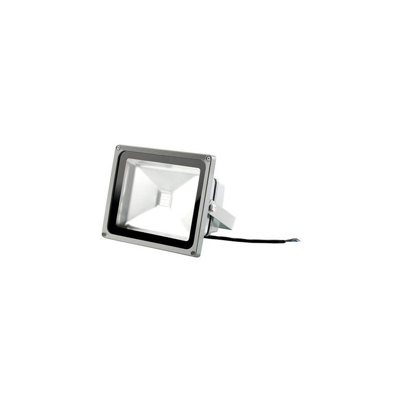 projecteur d 39 ext rieur led ultra puissante t l commande 30 w multicolore. Black Bedroom Furniture Sets. Home Design Ideas