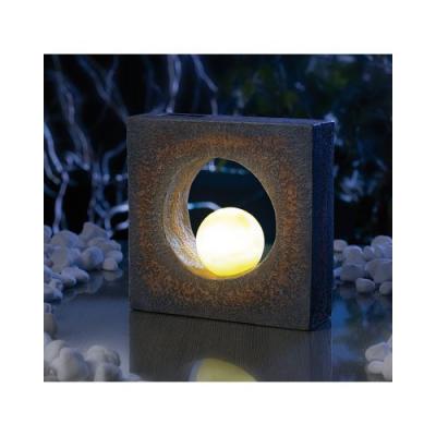 Lampe d 39 ext rieur led fonctionnant l 39 nergie solaire for Deco jardin solaire