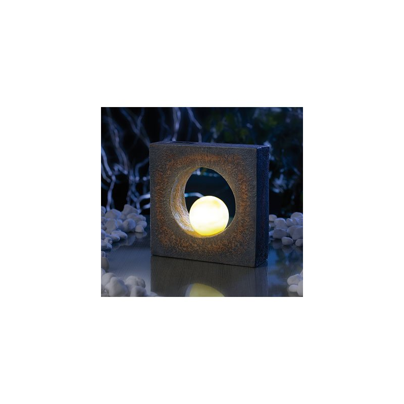lampe d 39 ext rieur led fonctionnant l 39 nergie solaire d coration pour jardin. Black Bedroom Furniture Sets. Home Design Ideas