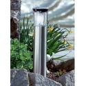 Lanterne d'extérieur en acier fonctionne à l'énergie solaire - 40 cm
