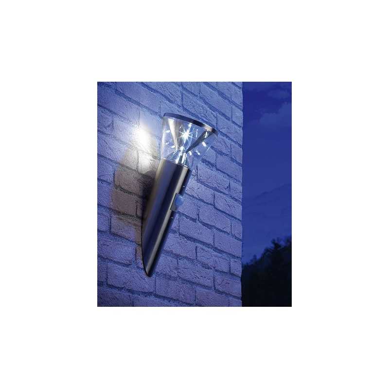 Detecteur lumiere exterieur perfect x lampadaire led for Lumiere led pour exterieur