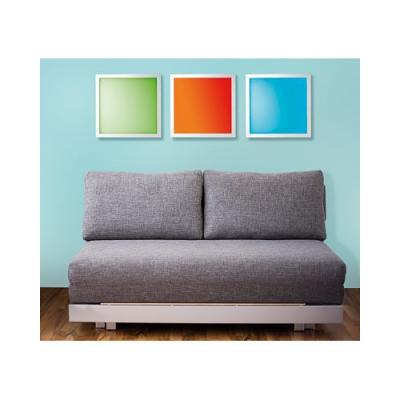 Panneau lumineux ultra plat à LED couleurs changeantes pour décoration d'intérieur