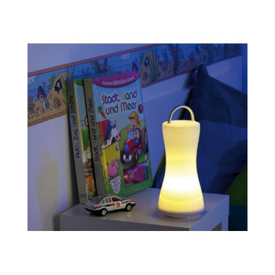Mini lanterne 6 LED super lumineuses - Blanc froid