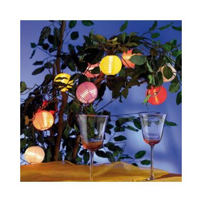 Banderole de lampions colorés pour faire la fête - 5 m