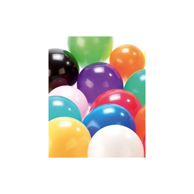 100 Ballons gonflables multicolores