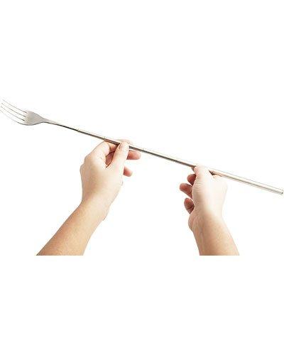 Fourchette télescopique en acier inoxydable