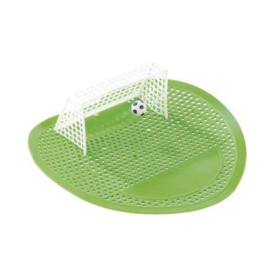Surface pour fond d'urinoir en caoutchouc souple - Terrain de football