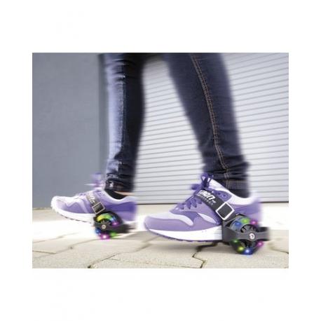 8cc2402fd96300 Paire de roulettes clignotantes pour chaussures