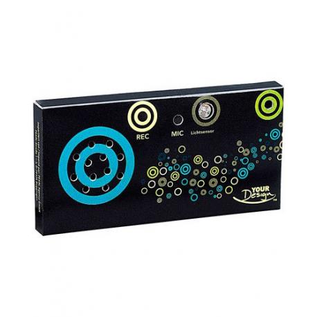 Microphone et haut-parleur intégrés autocollant pour cadeaux surprise