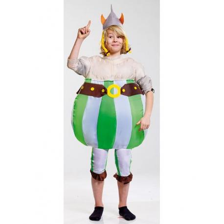 Costume gonflable Obélix / Viking pour enfants jusqu'à 134 cm