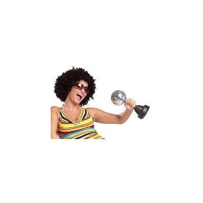 Perruque Afro - Noire à bouclettes