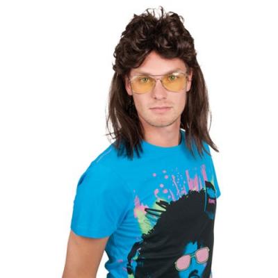 Perruque Style années 80