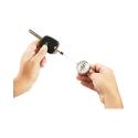 Porte-clés avec clip de fixation très robuste