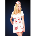 Costume d'infirmière sexy - Taille L (46)