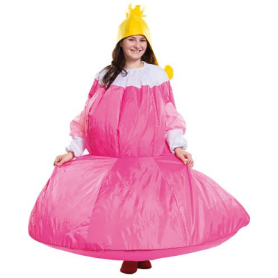 Costume gonflable de princesse - Taille universelle