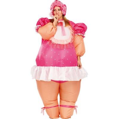Costume gonflable de Bébé Géant - Taille universelle