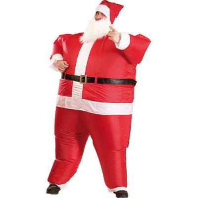 Costume de Père Noël Gonflable