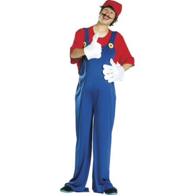 Costume Super Mario non officiel pour adultes