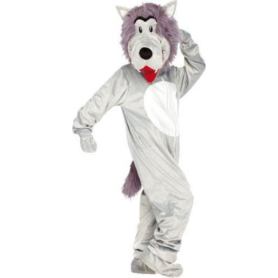 Costume de loup en fourrure synthétique - Taille universelle - Convient pour l'extérieur