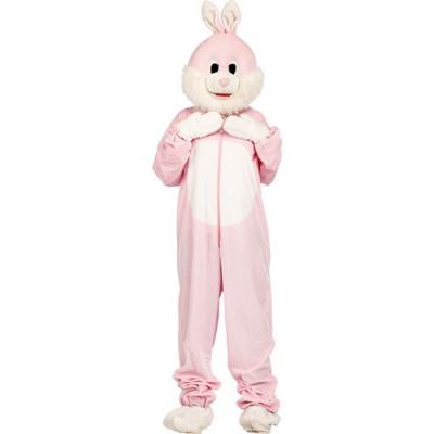 Costume de lapin en fourrure synthétique - Taille universelle - Convient pour l'extérieur