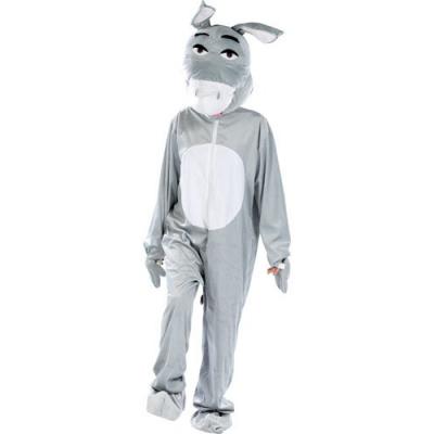 Costume d'âne en fourrure synthétique - Taille universelle - Convient pour l'extérieur