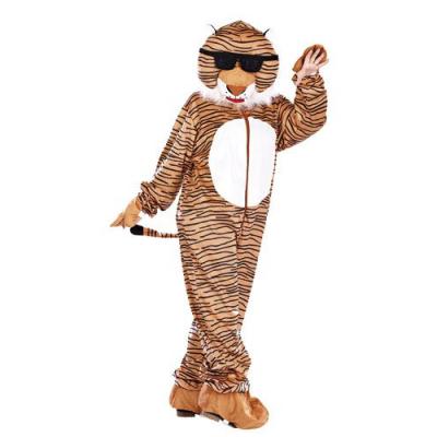 Costume de Tigre en fourrure synthétique - Taille universelle - Convient pour l'extérieur