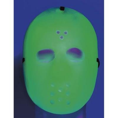 Masque de Hockey sur glace Halloween Fluorescent déguisement