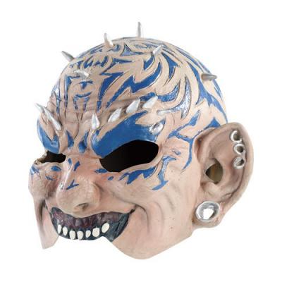 Masque démon tatoué Halloween déguisement