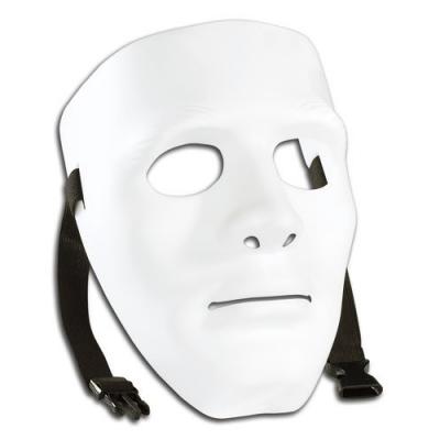 Masque blanc Personnalisable déguisement