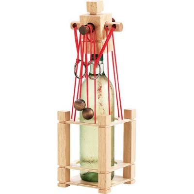 Puzzle en bois fun pour bouteille casse tête