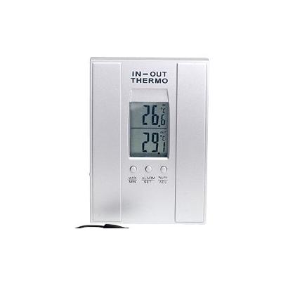 Thermomètre électronique mural avec programmateur