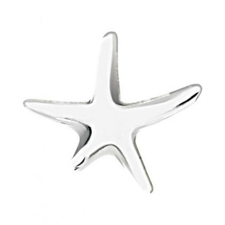 Boucles Doreilles étoile De Mer En Argent Pure Sterling