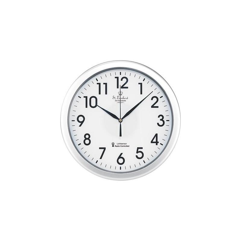 horloge murale classique avec mise jour automatique r tro clair e et fluorescent diam tre. Black Bedroom Furniture Sets. Home Design Ideas