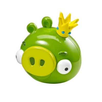 Figurine du Roi cochon pour de nouveaux défis dans Angry Birds - Mattel