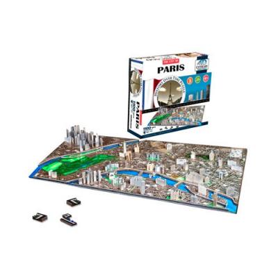 Puzzle 3D - Voyage dans le temps à Paris - 1100 pièces