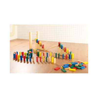 Pack dominos multicolore - 263 pièces