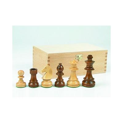 32 Pièces d'échecs feutrées en bois de buis 76 mm