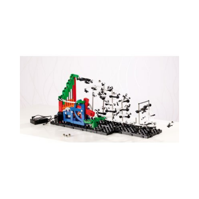 Circuit à Billes avec looping + spirales et ascenseur motorisé 245 Pièces