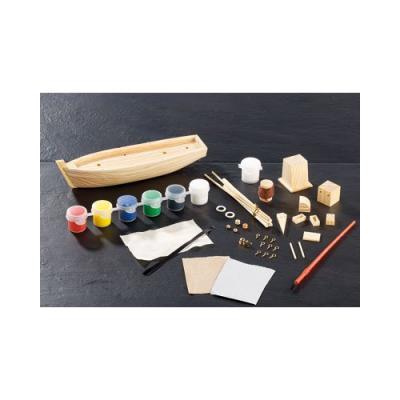 Kit de construction en bois - Bateau Remorqueur