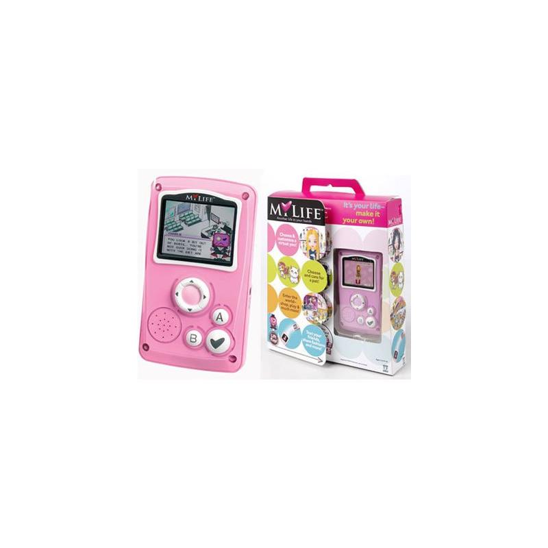 Console de jeu portable pour enfant avec le jeu my life giochi preziosi - Console de jeux pour enfant ...
