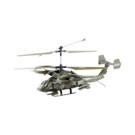 Hélicoptère de combat télécommandé avec gyroscope électronique - Diamètre rotor 40,1 cm