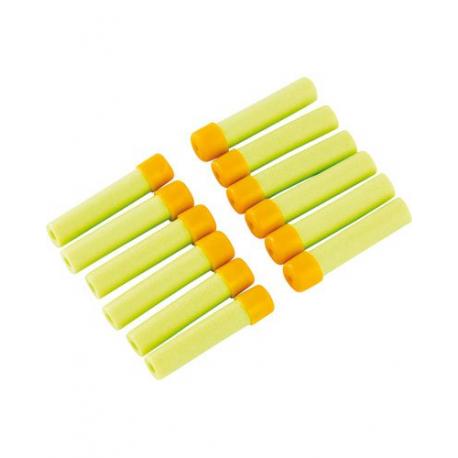 12 Fléchettes en mousse pour Pistolet à fléchettes en mousse