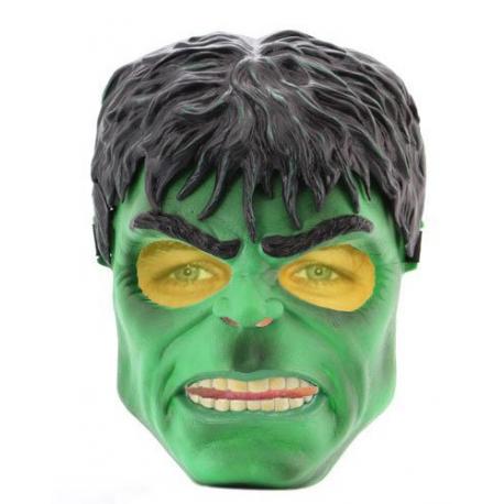 Masque De Hulk Avec Bouton Pour Yeux Fluorescents