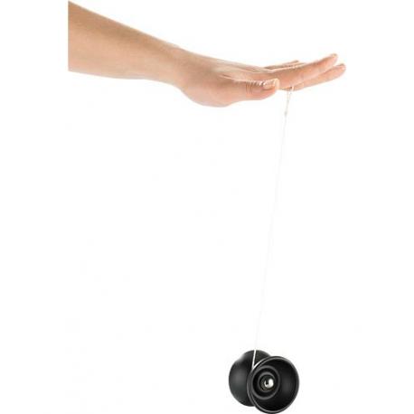 Yo-Yo Professionnel Acier Brossé - Noir Mat