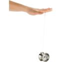 Yo-Yo Professionnel Acier Brossé - Argent Mat