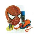 Panoplie Spiderman - Masque + lance projectile + lance toile + figurine