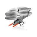 Hélicoptère de combat télécommandé avec Coque en plastique léger et robuste + lance missiles