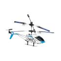 Mini Hélicoptère télécommandé avec gyrostabilisateur et Batterie 150 mAh - Diamètre rotor 19 cm - Bleu et Blanc