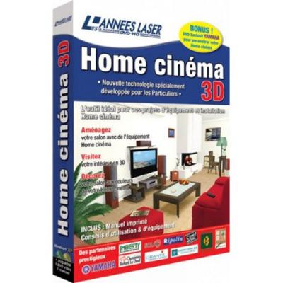 Logiciel PC - Home cinéma 3D