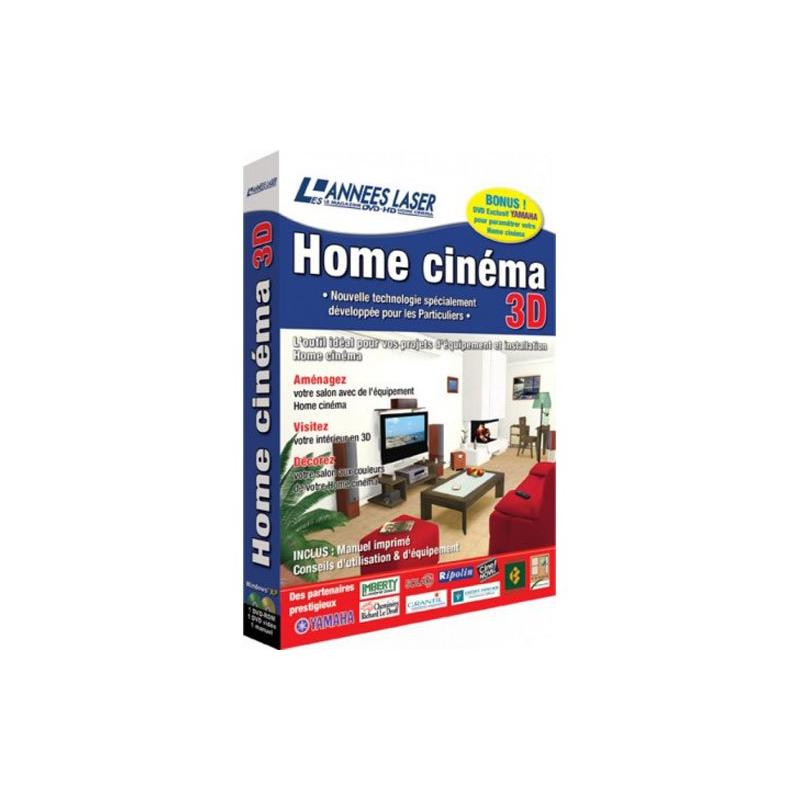Logiciel pc home cin ma 3d for Logiciel home